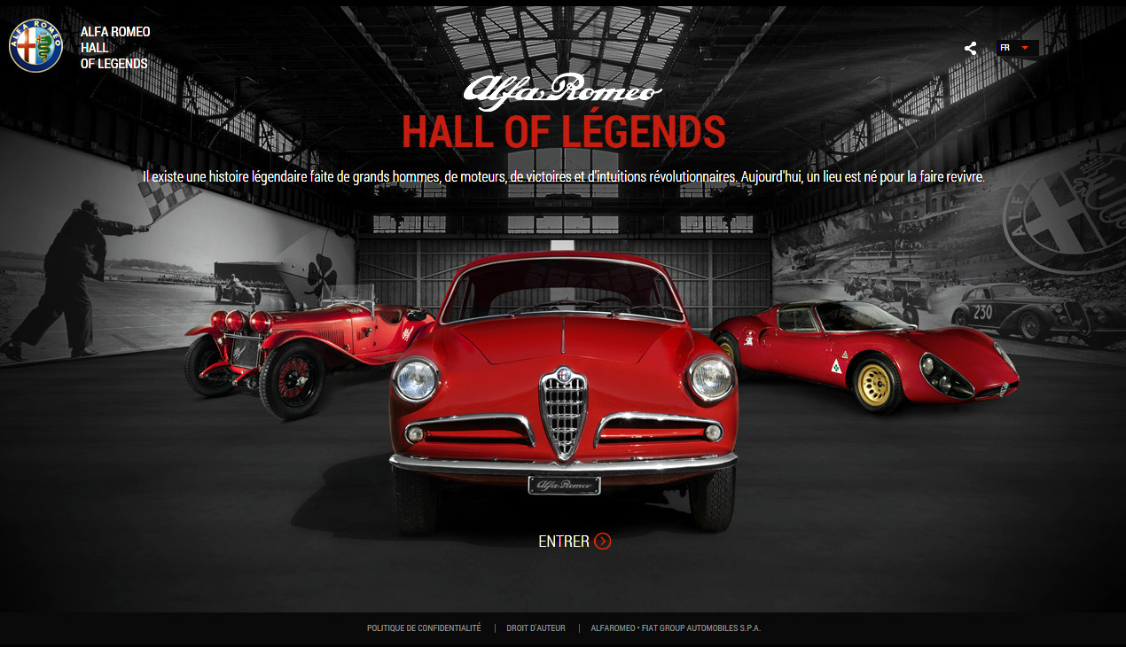 Alfa Romeo : Hall of Legends