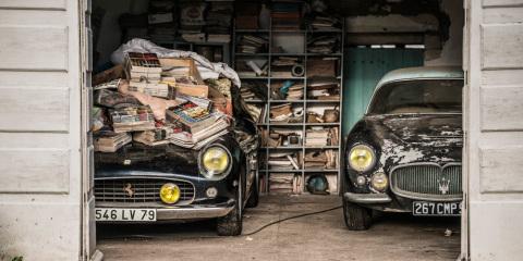 1961-Ferrari-250-GT-SWB-California-Spider-et-1956-Maserati-A6G-Gran-Sport-Frua-,
