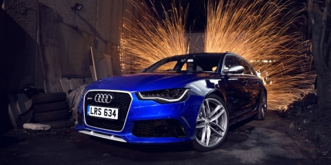 Audi twelve days - DAY 2 (Dec 26)-The Audi RS 6 Avant (2014 Model Year)
