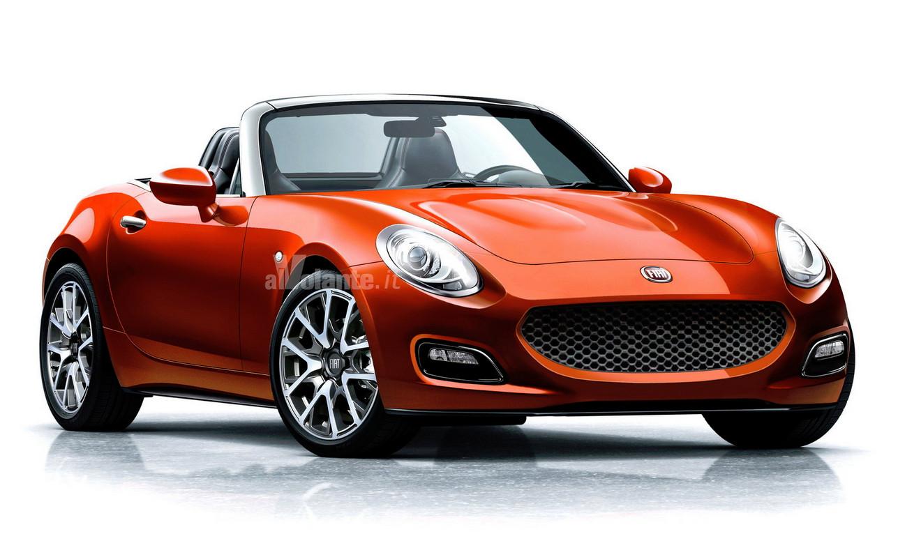 Héritière -dans l'esprit- des Fiat 124 spider et des Bachetta, ce petit cabriolet repose sur une plate-forme développée conjointement avec Mazda