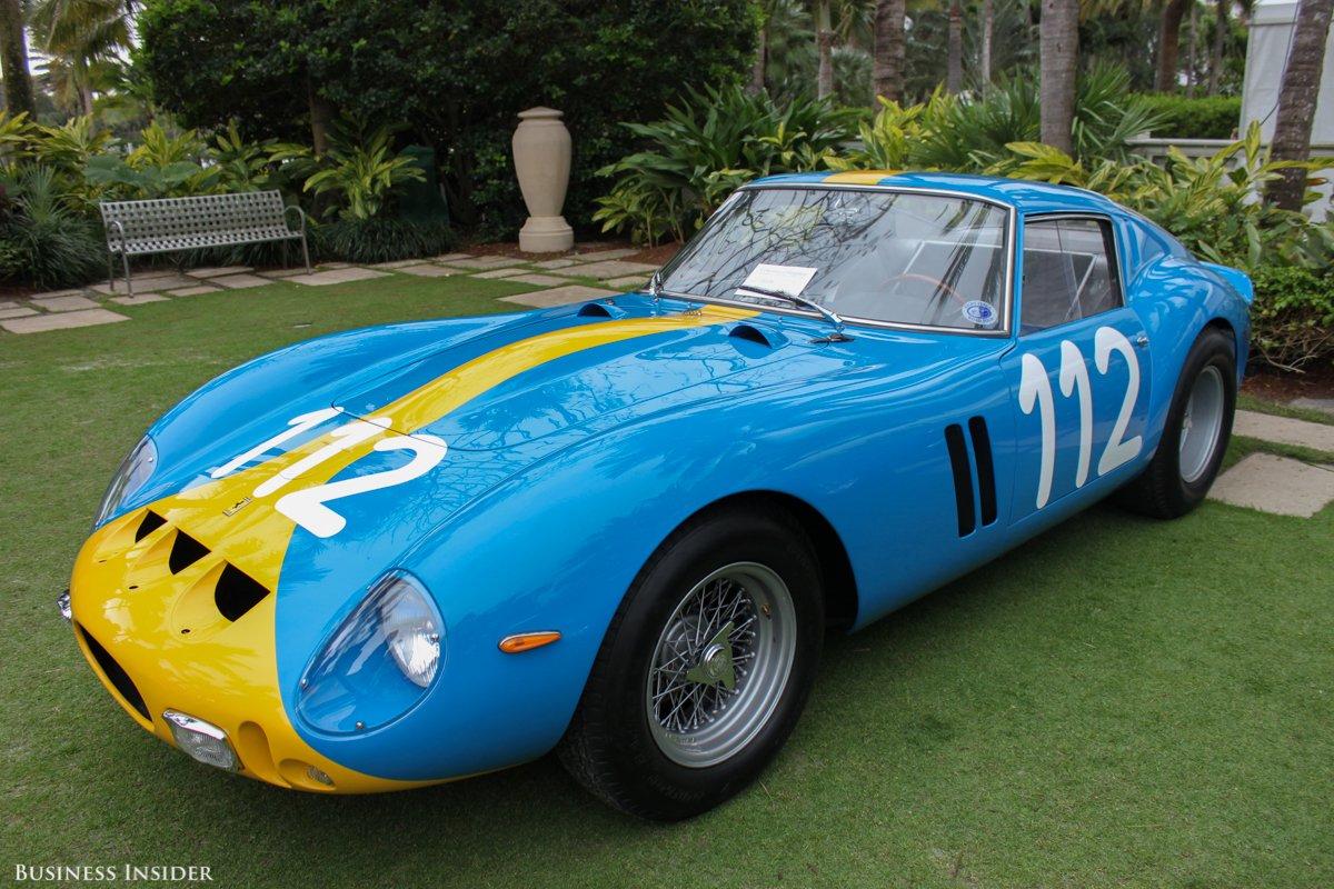 Et voici une des voitures les plus chères du monde! Plusieurs dizaines de millions de dollars sont nécessaires pour en acheter une.