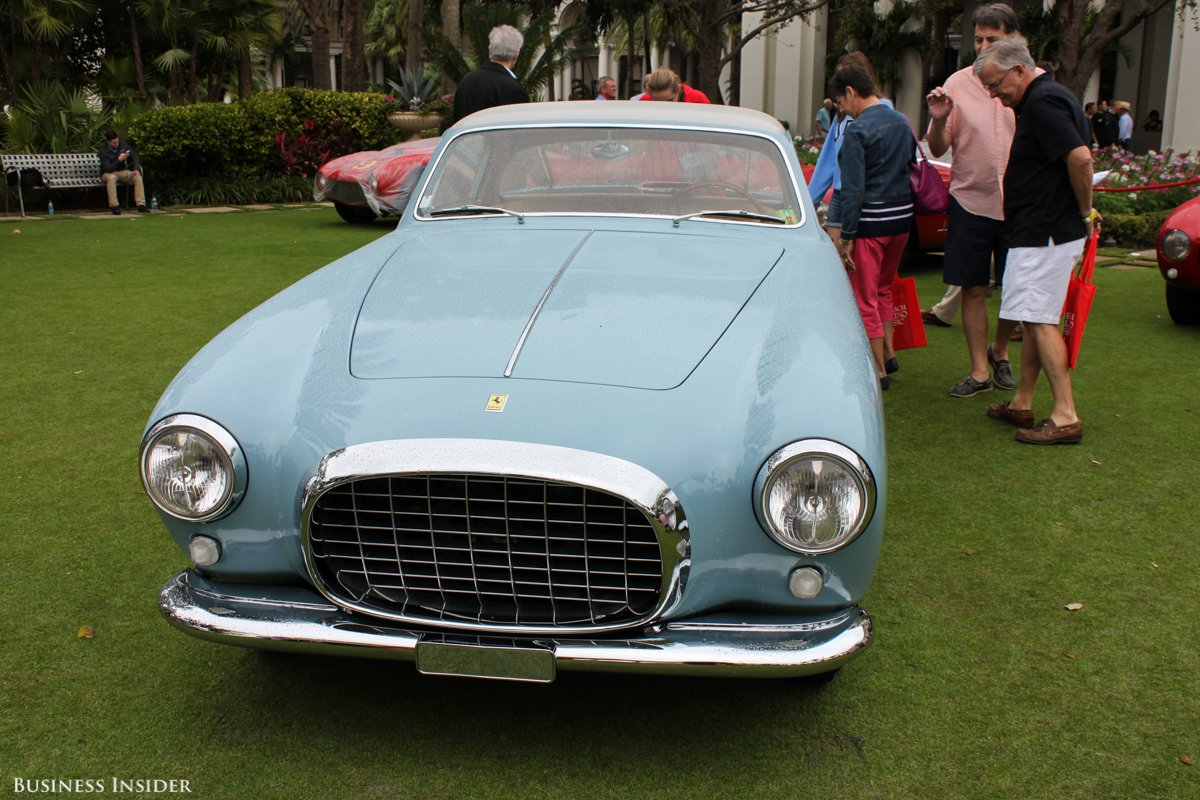 Ferrari 375 America. Seulement 11 exemplaires comme celui-ci, carrossé par Touring.
