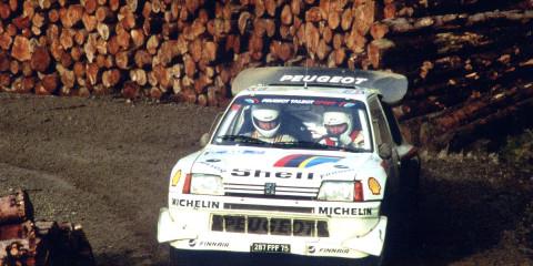 La 205 T16 contribua à rajeunir l'image de Peugeot.
