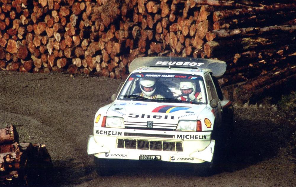La 205 T16 contribua à rajeunir l'image de Peugeot