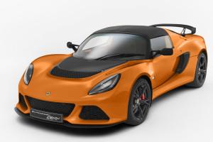 Lotus Exige S Club Racer orange