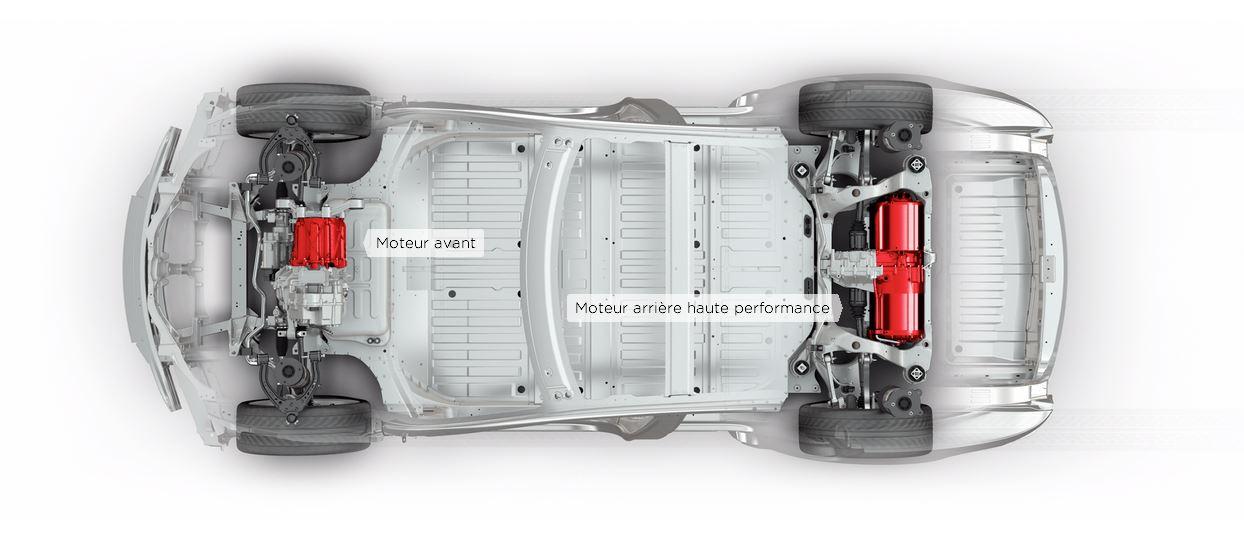 chassis tesla