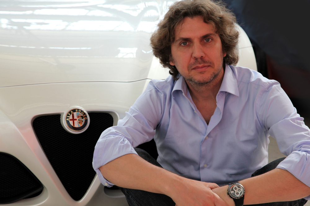 Alessandro MACCOLINI, chef du design extérieur Alfa Romeo
