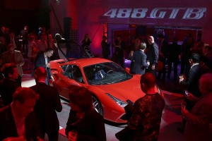 Ferrari 488GTB UK launch