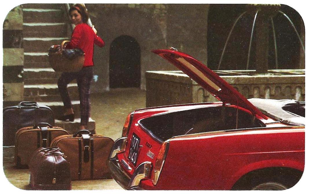 En voilà une jolie carrosserie des années 60...