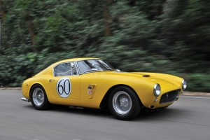 ferrari-250 GT swb-route